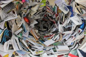 Books and Newspapers to shred in environmentally friendly initiative